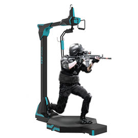 9D Virtual Reality Sports Simulators Treadmill Machine Shooting Game For VR Park